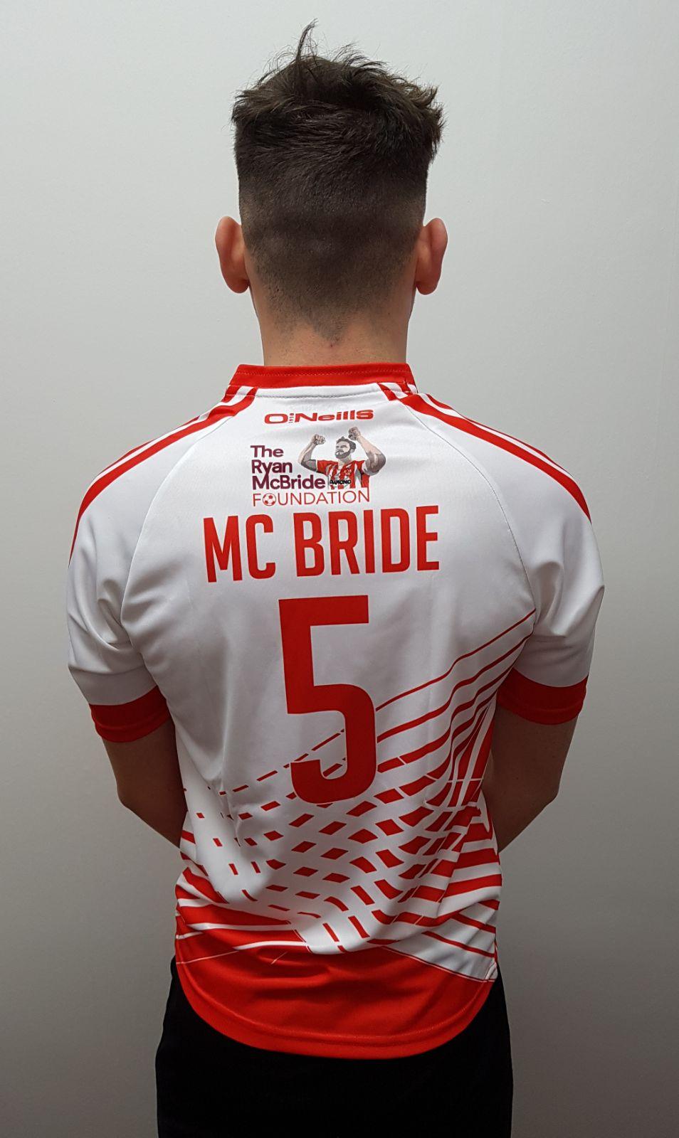Football Shirt – McBride 5 Foundation 54ccd5b33